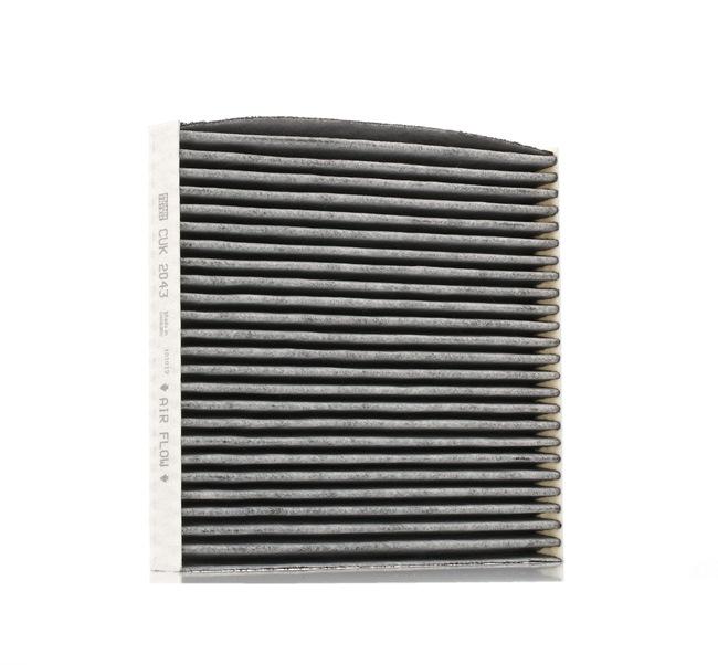Cabin filter MANN-FILTER 962461 Charcoal Filter