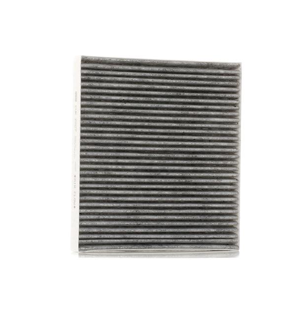 Filter, Innenraumluft Länge: 217mm, Breite: 195mm, Höhe: 25mm mit OEM-Nummer K05058381AA