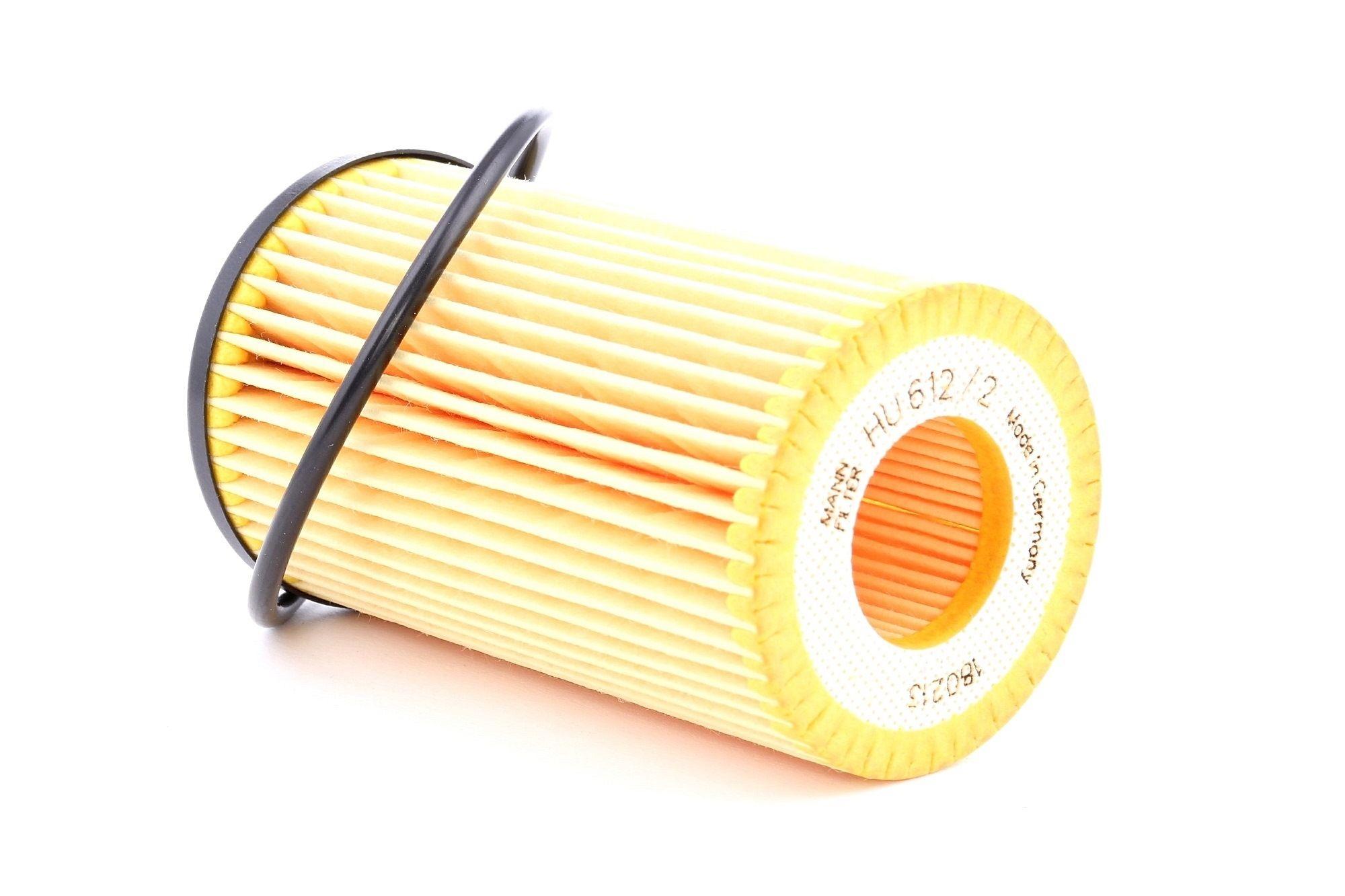 Filtro de aceite MANN-FILTER HU 612/2 x evaluación