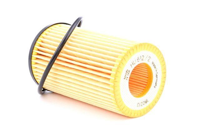 Filtro de aceite MANN-FILTER 963118 Cartucho filtrante