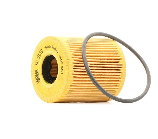 OEM Filtro de aceite MANN-FILTER HU71151x