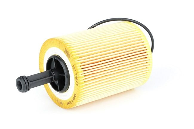 MANN-FILTER Oil filter AUDI Filter Insert