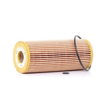 MANN-FILTER Filtro de aceite motor VW Cartucho filtrante