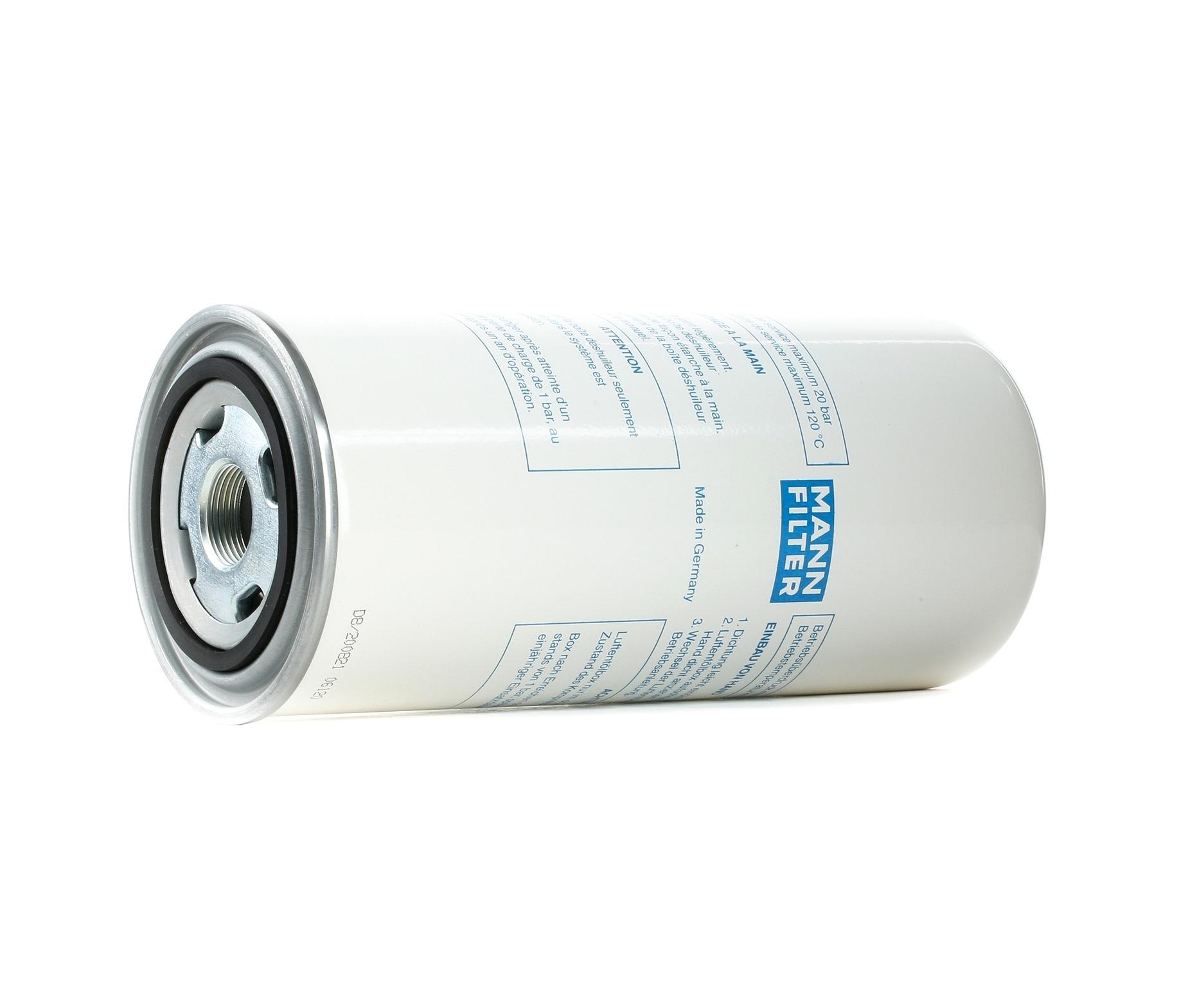 Filter, compressed air system MANN-FILTER LB 962/2 rating