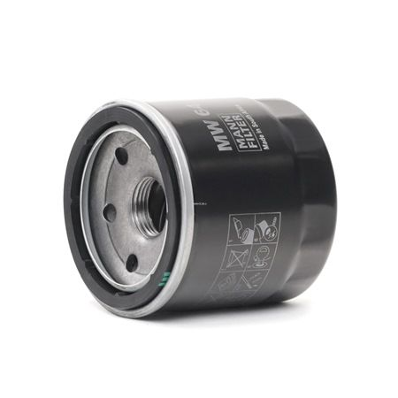 MANN-FILTER Маслен филтър навиващ филтър, с един възвратен клапан