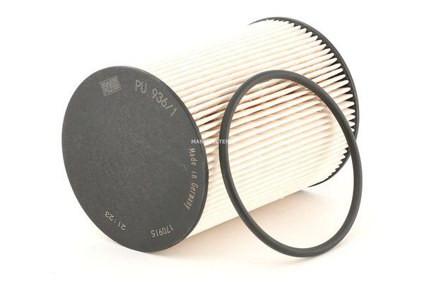 MANN-FILTER Filtereinsatz, mit Dichtungen PU9361x