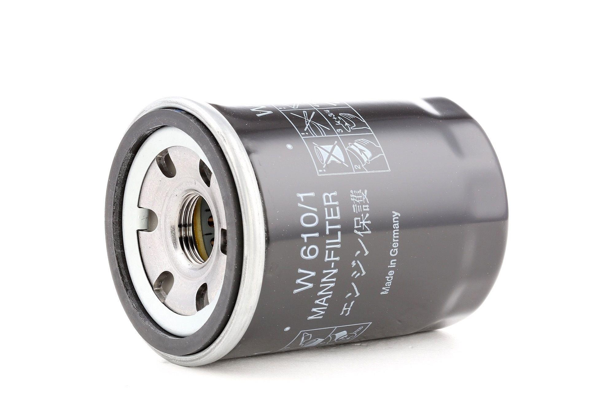 Filtro de aceite motor MANN-FILTER W 610/1 evaluación