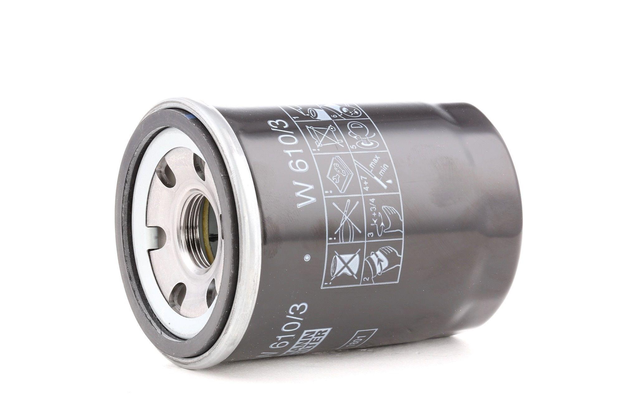 Filter MANN-FILTER W 610/3 Bewertung