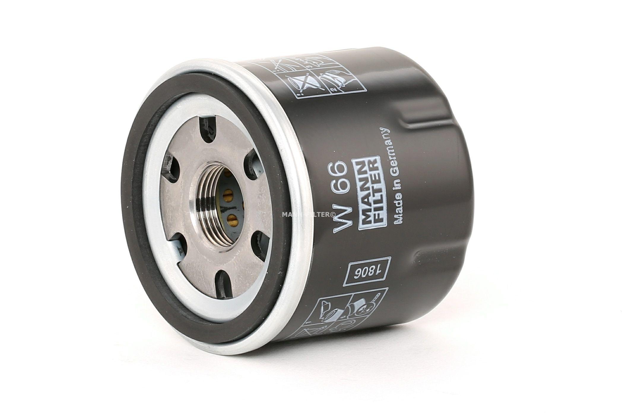 Engine oil filter MANN-FILTER W 66 rating