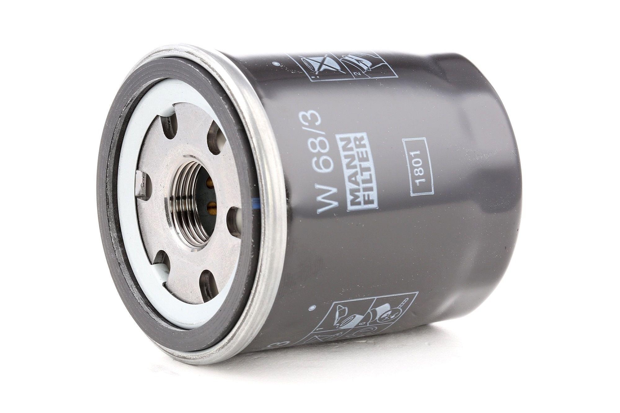 Engine oil filter MANN-FILTER W 68/3 rating