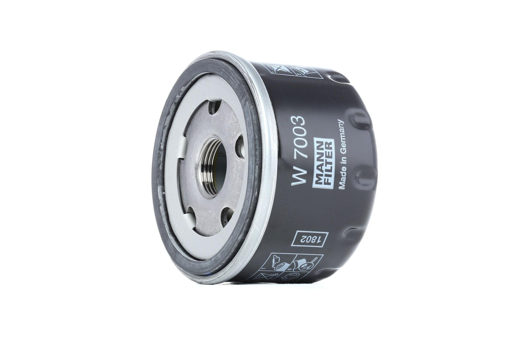 Engine oil filter MANN-FILTER W 7003 rating