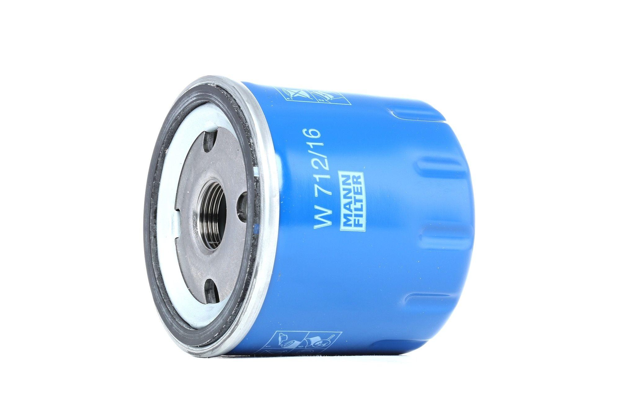 Engine oil filter MANN-FILTER W 712/16 rating