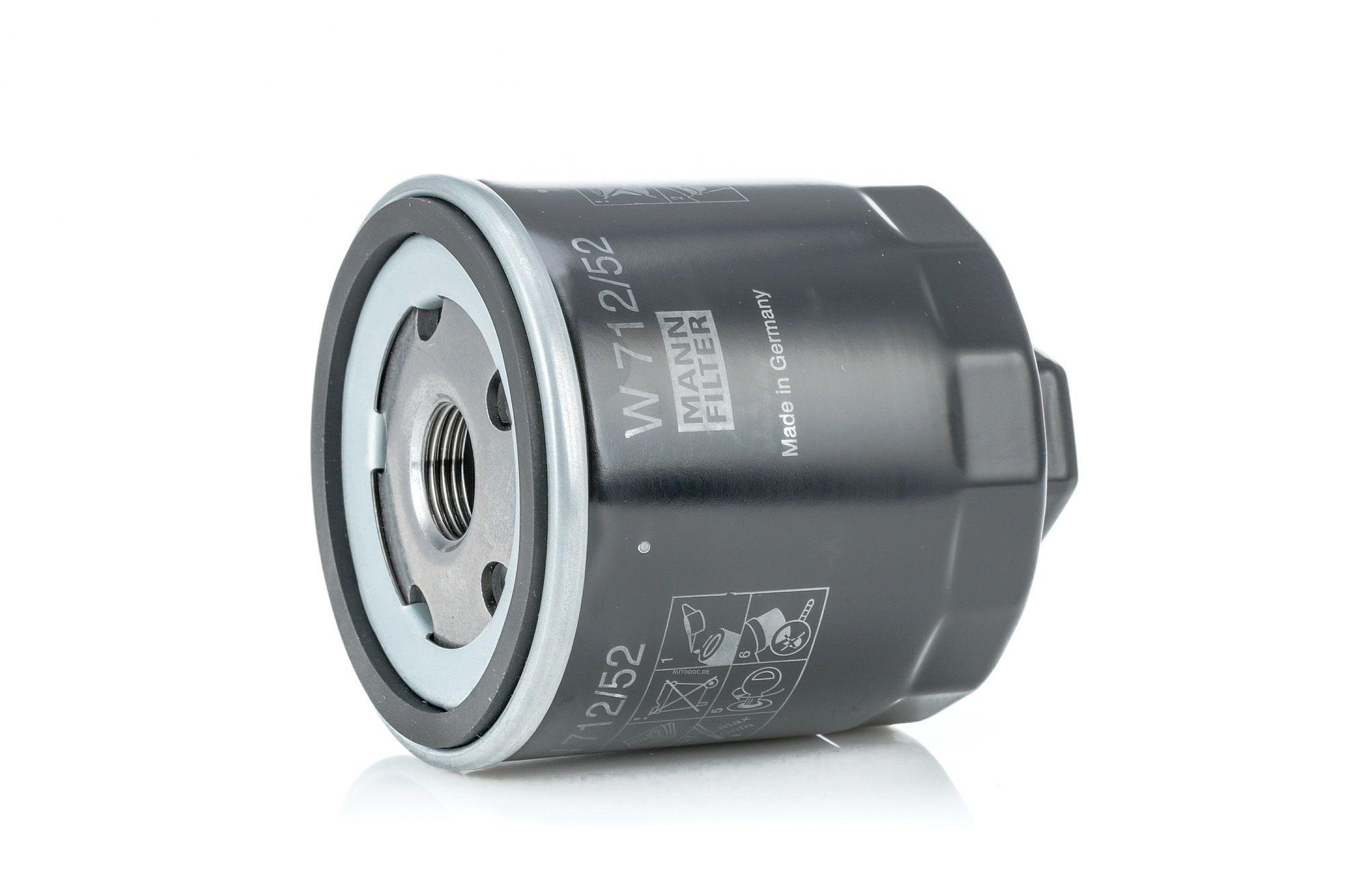 Filtro olio MANN-FILTER W 712/52 valutazione