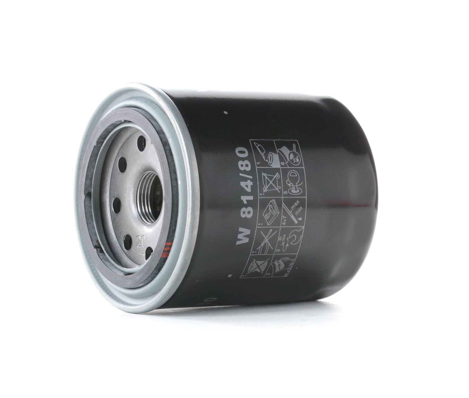 Filter MANN-FILTER W 814/80 Bewertung