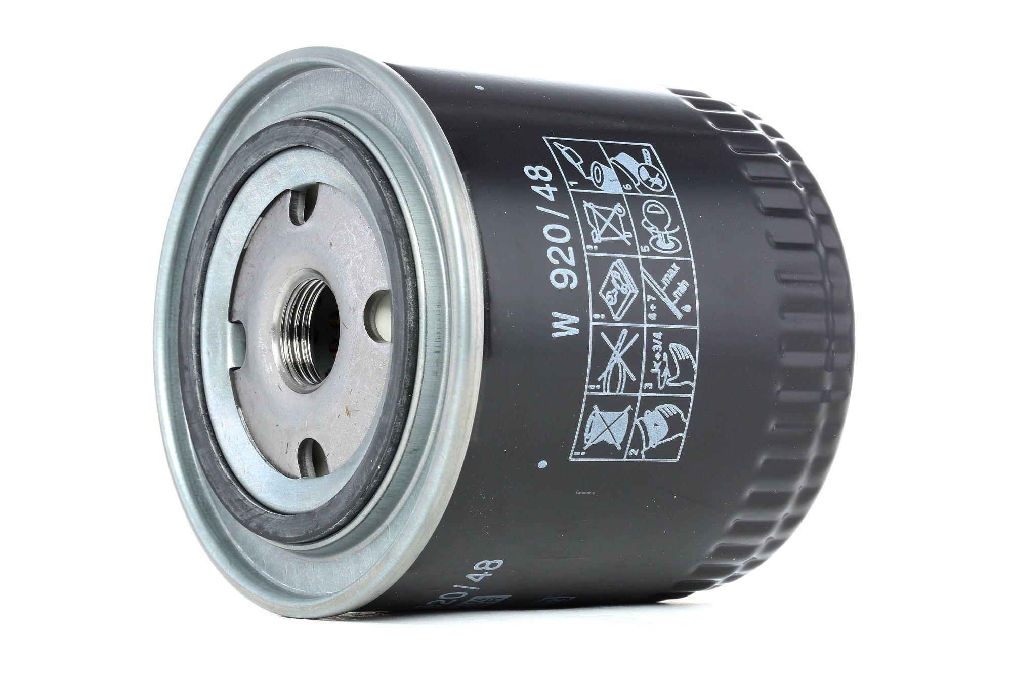 Filter MANN-FILTER W 920/48 Bewertung