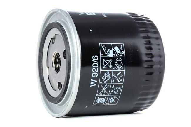 MANN-FILTER Anschraubfilter, mit einem Rücklaufsperrventil W9206