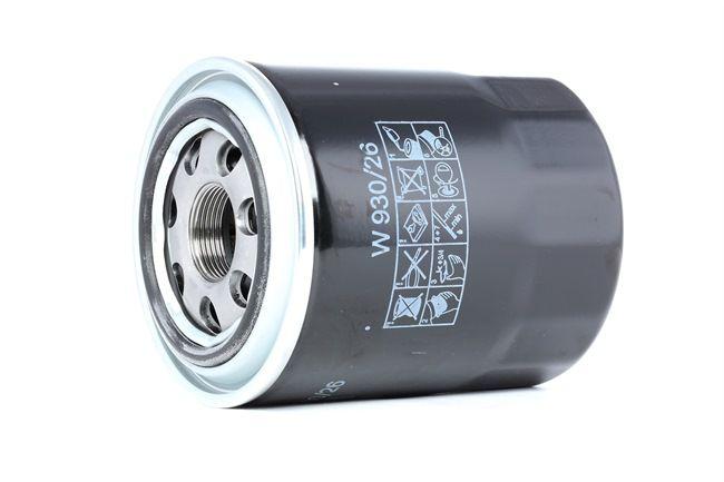 Filtro de aceite MANN-FILTER 963739 Filtro enroscable, con válvula bloqueo de retorno
