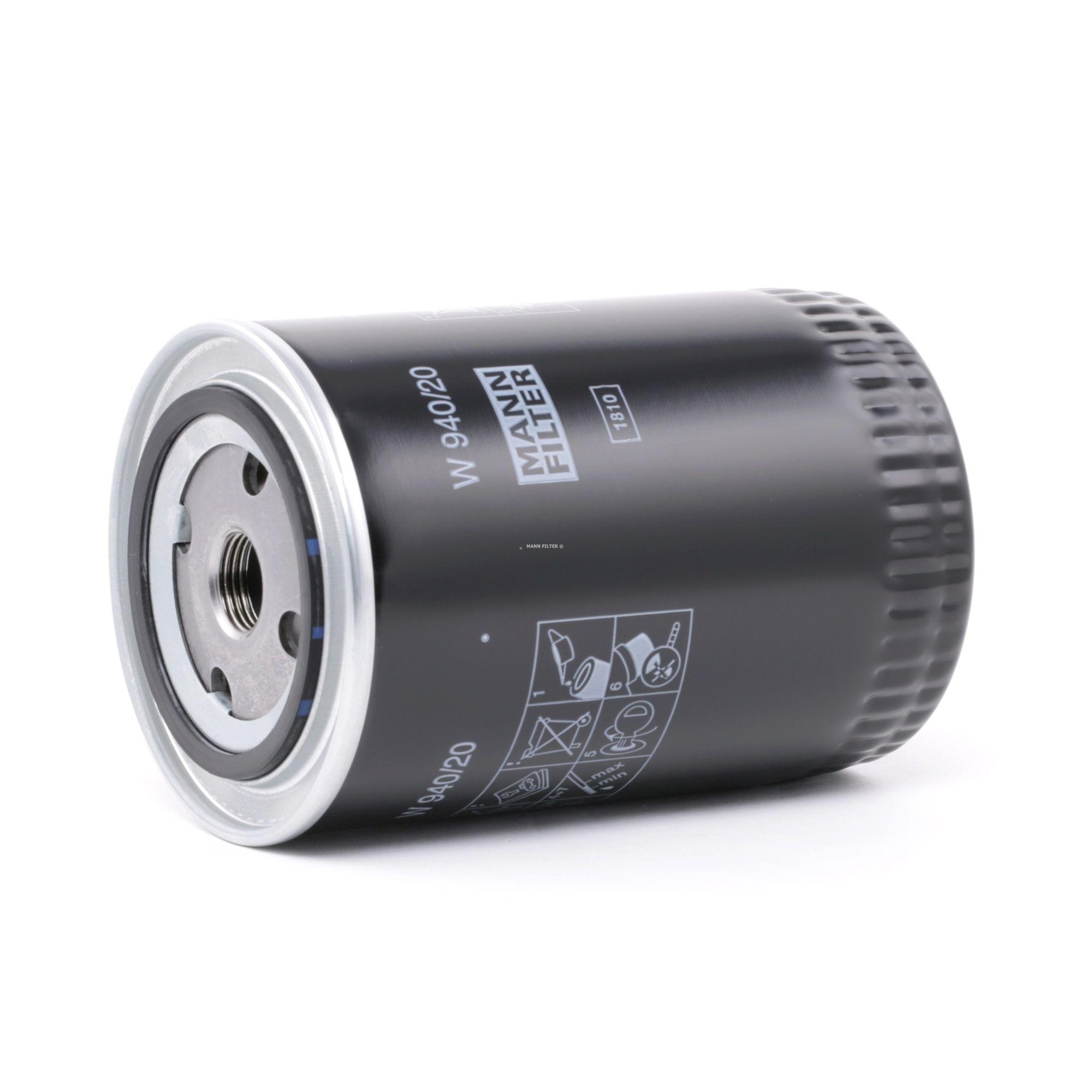 Filter MANN-FILTER W 940/20 Bewertung