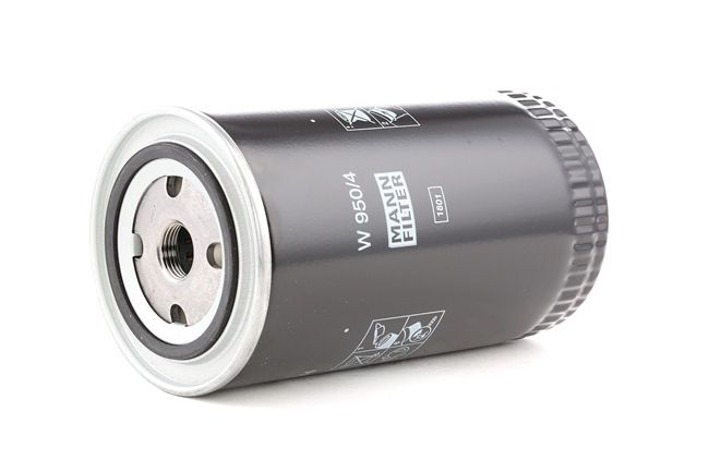 Ölfilter W950/4 MANN-FILTER Anschraubfilter, mit einem Rücklaufsperrventil Ø: 93mm, Außendurchmesser 2: 71mm, Innendurchmesser 2: 62mm, Innendurchmesser 2: 62mm, Höhe: 183mm
