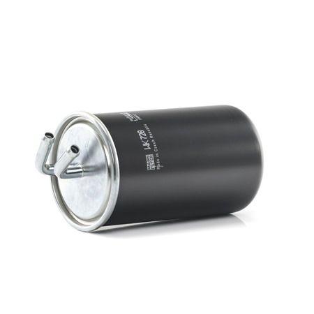Filtro de combustible MANN-FILTER 964096 Filtro de tubería