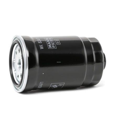 Fuel filter WK824/1 MANN-FILTER Screw-on Filter Height: 141mm