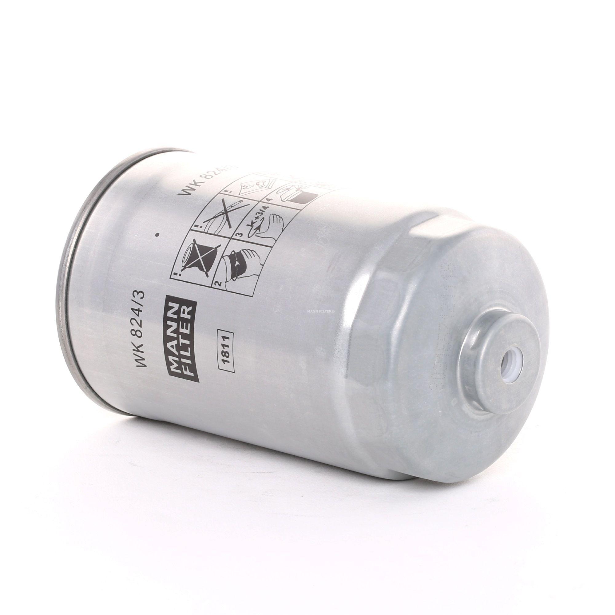 Fuel filter MANN-FILTER WK 824/3 rating