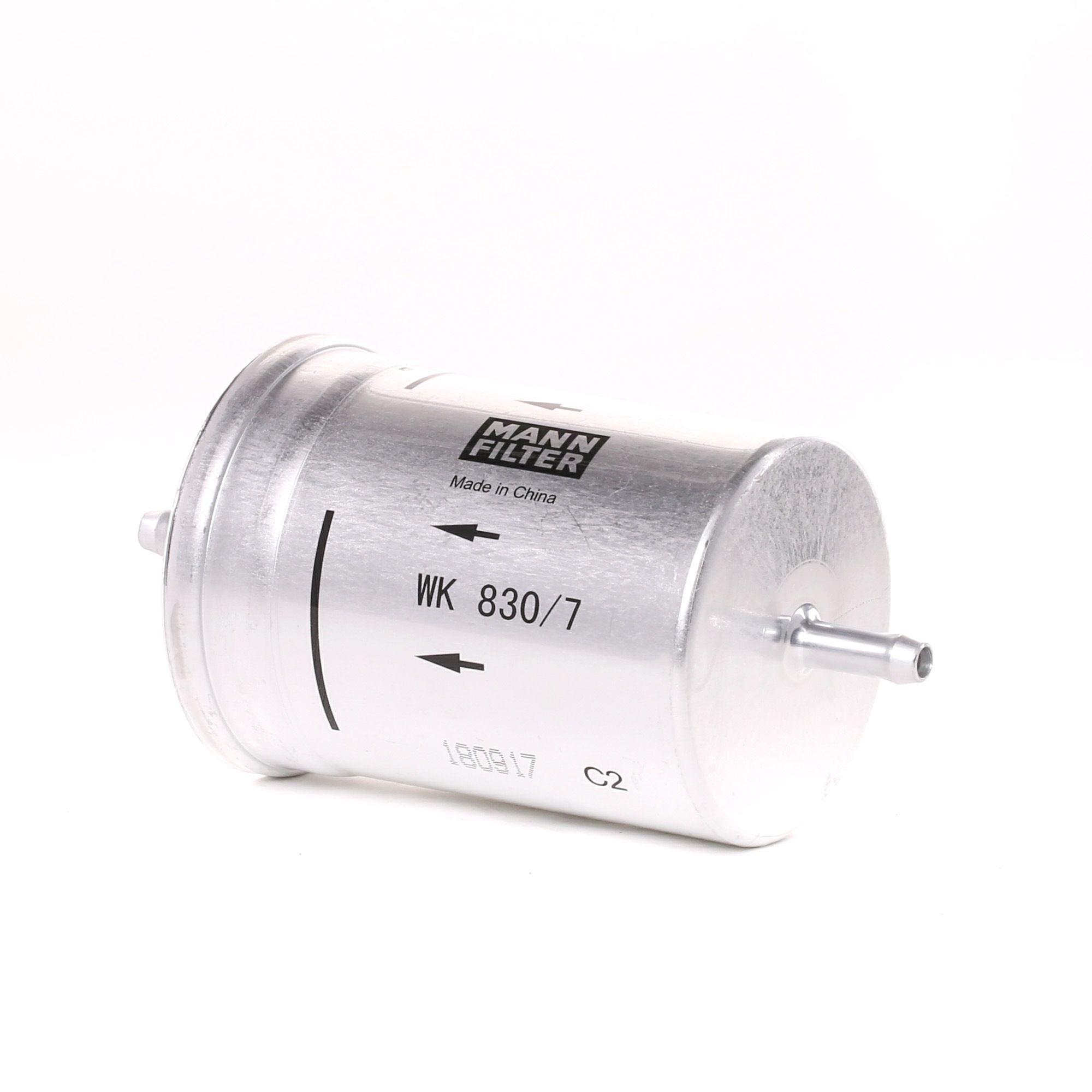 Fuel filter MANN-FILTER WK 830/7 rating