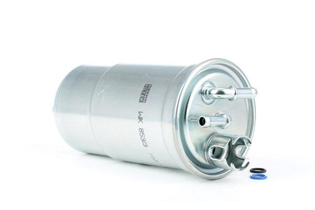 MANN-FILTER Filtro de combustível Filtro dos tubos, com juntas