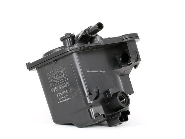 MANN-FILTER Üzemanyagszűrő Vezetékszűrő