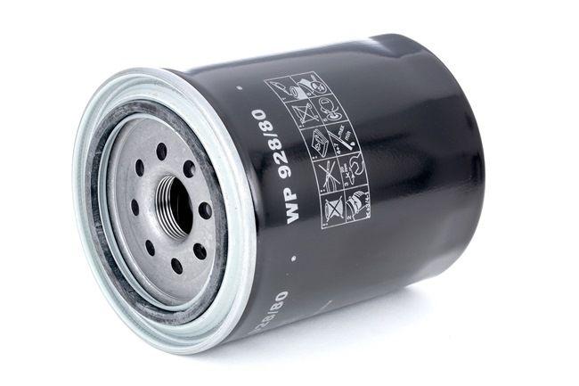 MANN-FILTER Filtro de aceite motor VW Filtro enroscable, con válvula bloqueo de retorno