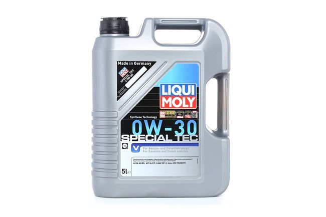 Buy cheap Engine Oil Special Tec, V, 0W-30, 5l from LIQUI MOLY online - EAN: 4100420037696