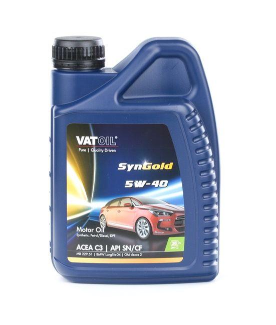 Aceite motor DODGE NITRO 2009 ac 5W-40, Capacidad: 1L, Aceite sintetico 50010