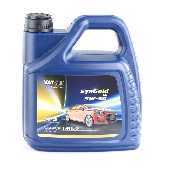 GM LL-A-025 5W-30, съдържание: 4литър, Синтетично масло