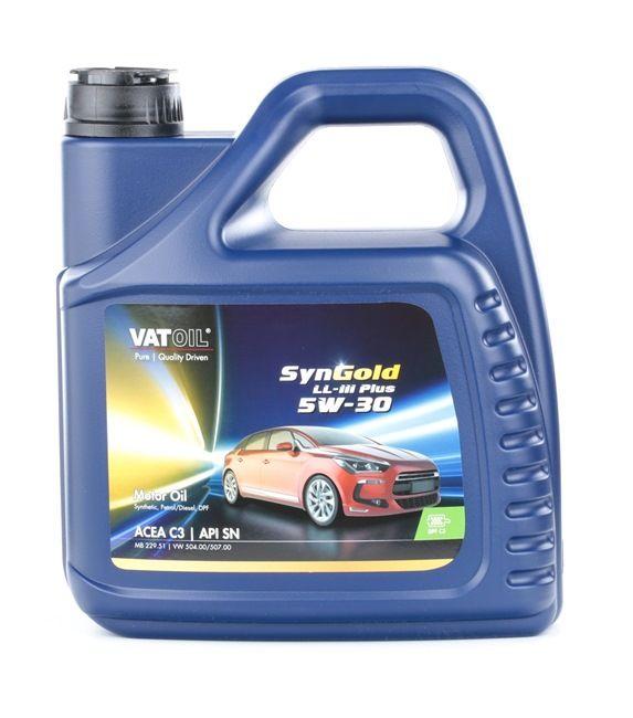 Olio auto 5W-30, Contenuto: 4l, Olio sintetico EAN: 2236198241000
