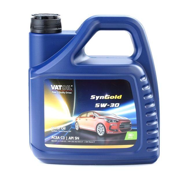 Olio auto 5W-30, Contenuto: 4l, Olio sintetico EAN: 2236198244320