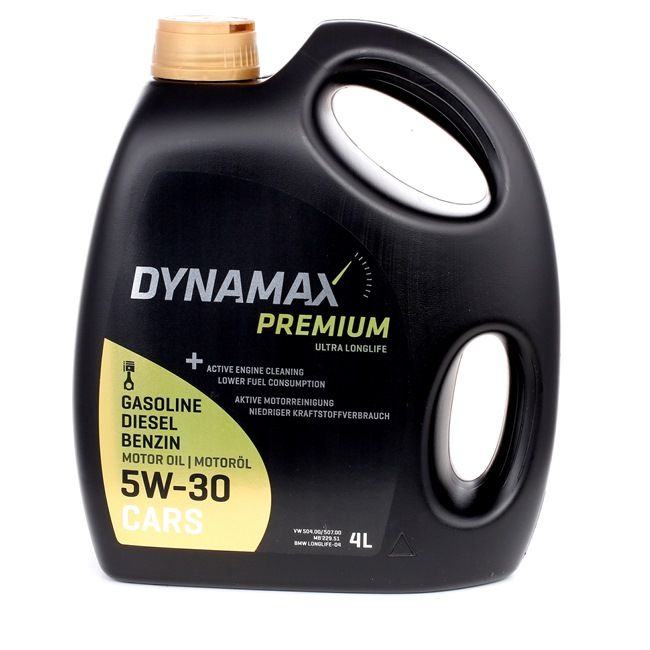 Koupit levně Olej do auta od DYNAMAX Premium, Ultra LongLife, 5W-30, 4l online - EAN: 2248819826008