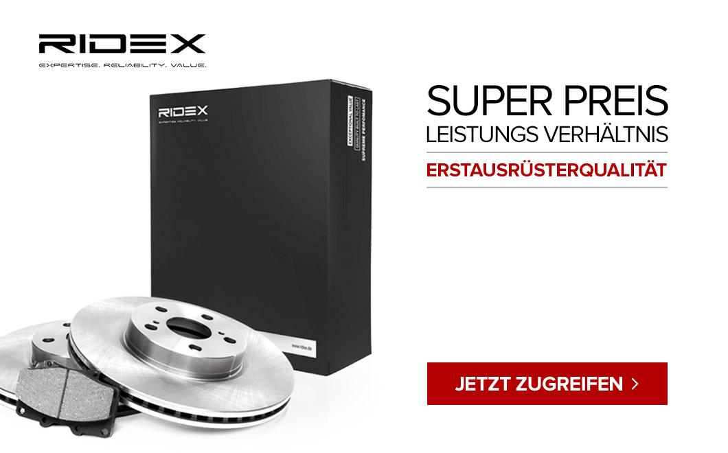 Ridex - Mehrwert OE-Ähnliche Qualität