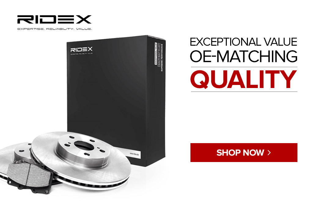 Ridex - Exceptional value OE-Matching quality