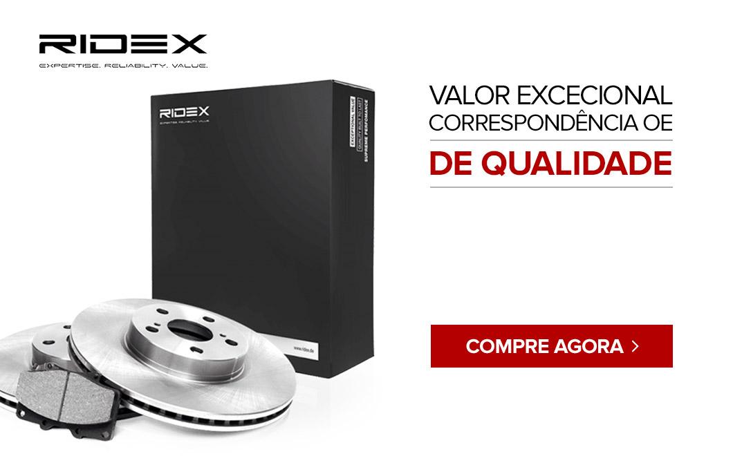 Ridex - valor excepcional exatamente igual a OE de qualidade