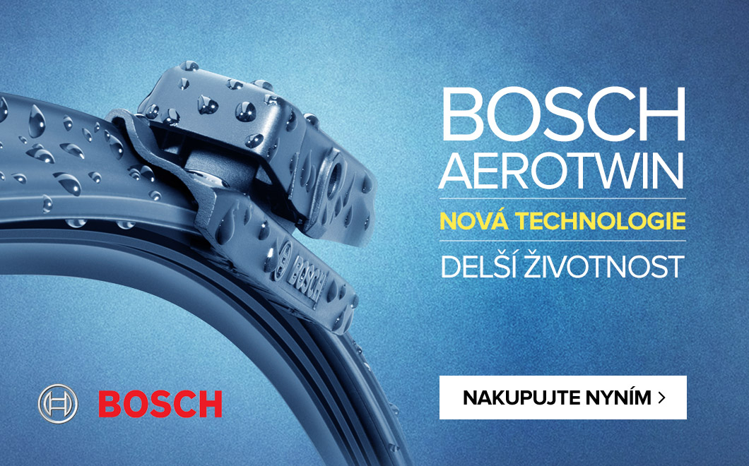 BOSCH AEROTWIN - nová technologie - delší životnosti