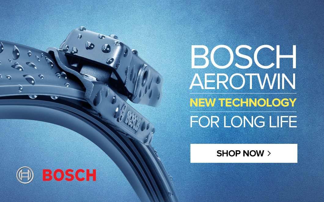 BOSCH AEROTWIN - new technology for long life