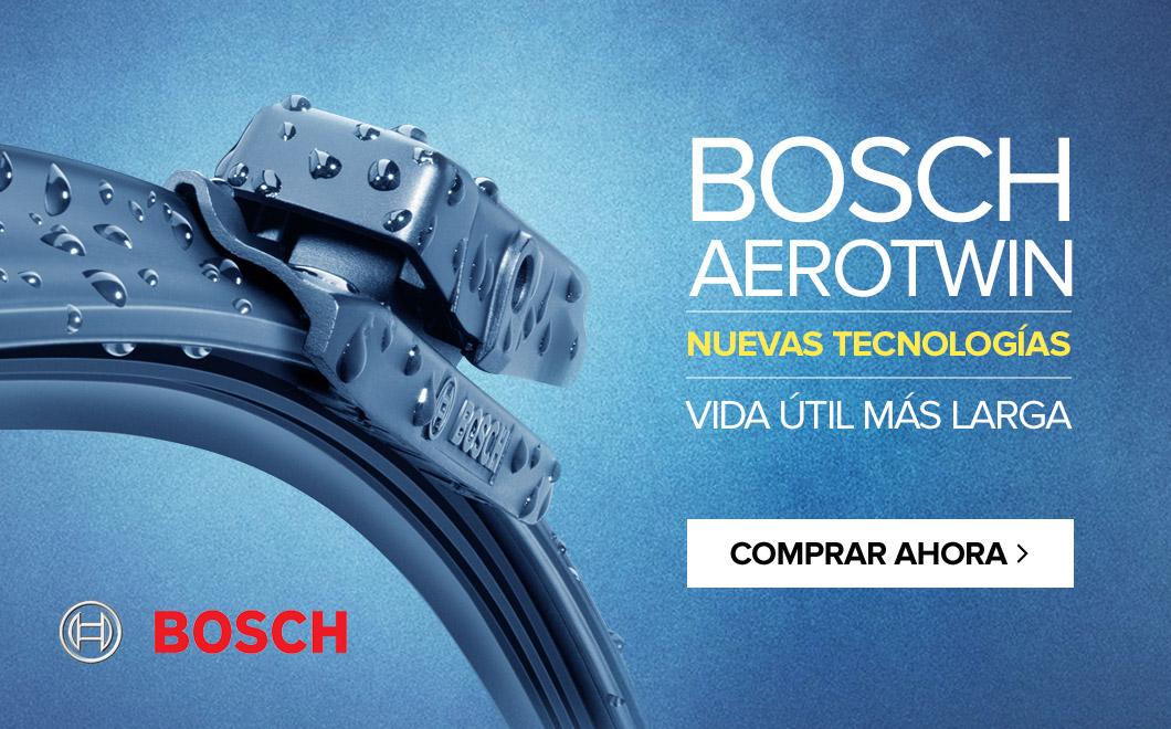 BOSCH AEROTWIN - nuevas tecnologías vida útil más larga