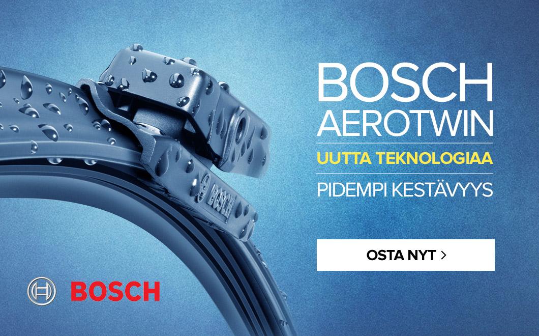 BOSCH AEROTWIN - uutta teknologiaa - pidempi kestävyys