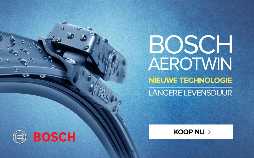 BOSCH AEROTWIN - nieuwe technologie - langere levensduur