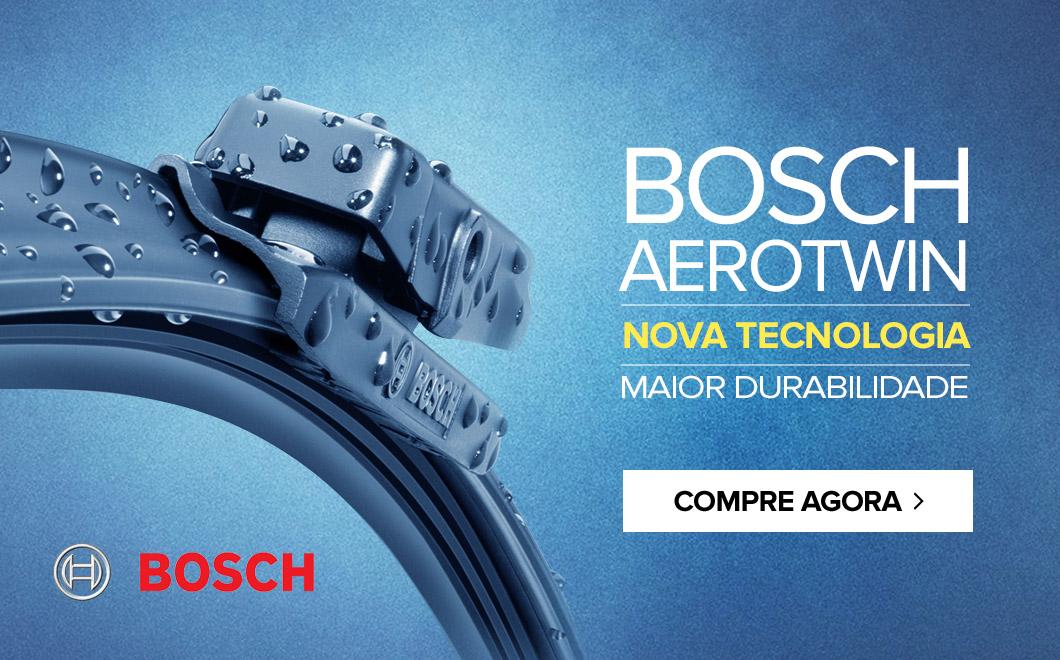 BOSCH AEROTWIN - nova tecnologia - maior durabilidade