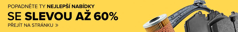POPADNĚTE TY NEJLEPŠÍ NABÍDKY SE SLEVOU AŽ 60%