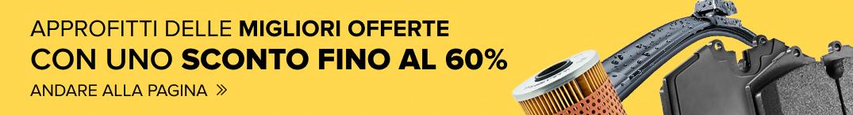 APPROFITTI DELLE MIGLIORI OFFERTE CON UNO SCONTO FINO AL 60%