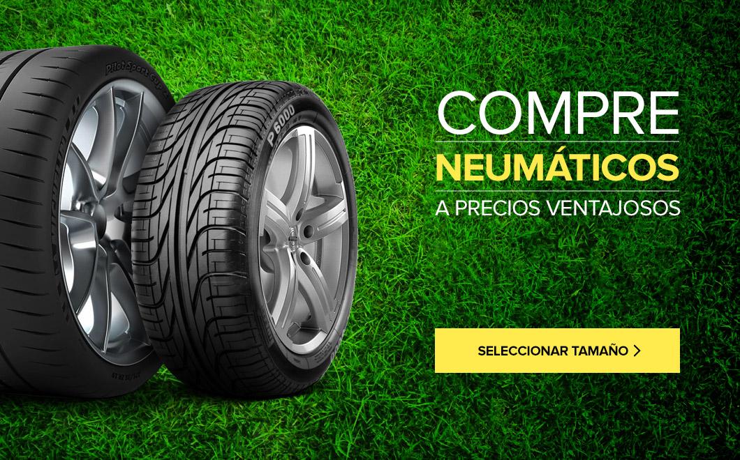 Compre neumáticos a precios vantajosos
