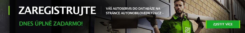 Zaregistrujte váš autoservis do databáze na stránce automobilovedily24.cz – dnes úplně zadarmo!