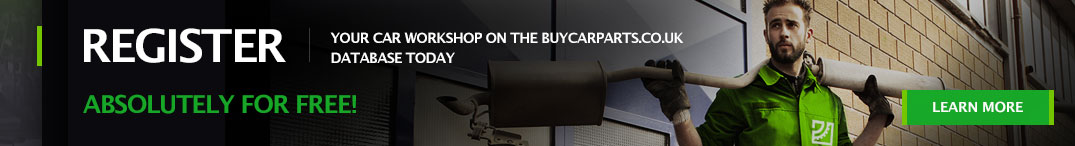 Register your car workshop on the buycarparts.co.uk database today absolutely for free!